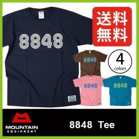 マウンテンイクイップメント 8848T MOUNTAIN EQIPMENT エベレスト Tシャツ 半袖 メンズ 男性 ME アウトドア カジュアル 登 フェス