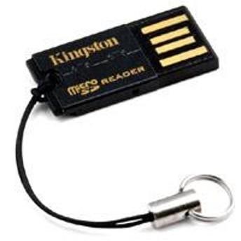 カードリーダー Kingston キングストン USB-microSD Reader G2 microSDHC FCR-MRG2 ◆メ