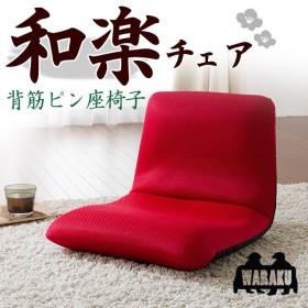 ざいす 座椅子 リクライニング チェア 椅子 1人掛け メッシュ コンパクト おしゃれ 座いす WARAKU 和楽チェア Sサイズ ポイント消化