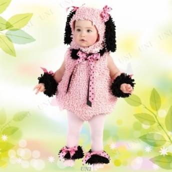 【送料無料】ベビー用ピンキープードル 仮装 衣装 コスプレ ハロウィン 子供 キッズ コスチューム 子ども用 動物 アニマル ベビー 赤ちゃ