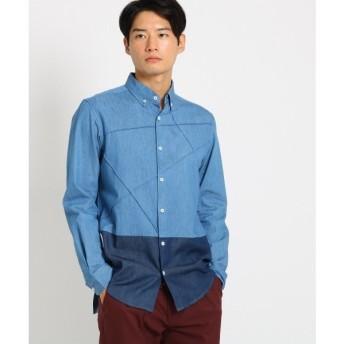 THE SHOP TK / ザ ショップ ティーケー ピンタックデニムシャツ