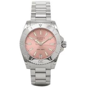 【3万円以上5%OFFクーポン】 グッチ 時計 レディース GUCCI YA136401 DIVE 腕時計 ウォッチ ピンク