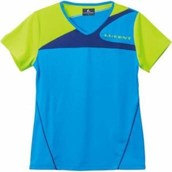 ルーセント テニス レディース テニス ゲームシャツ ブルー 16FW ブルー ケームシャツ・パンツ(xlh2257)