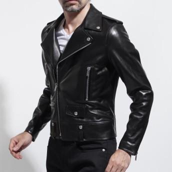 サンローランパリ SAINT LAURENT PARIS ライダース ジャケット ブラック メンズ 484284-y5ya2-1000