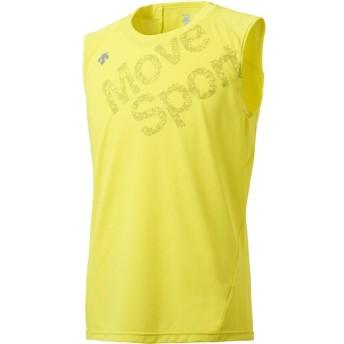 デサント BRZ+ ノースリーブシャツ メンズ DESCENTE DMMLJA62N GYEL
