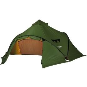 ベルガンス ウィグロLT4 キャンプ ドームテント400×345×180cm : グリーン Bergans