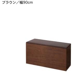 フリーボックス 小物収納ケース 樹脂畳ベンチボックス ブラウン