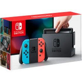 任天堂 Nintendo Switch Joy-Con(L) ネオンブルー/(R) ネオンレッド HAC-S-KABAA