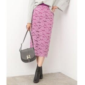 ROPE' / ロペ キモウフラワーレースタイトスカート