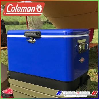 [日本未発売カラー]コールマン スチールベルトクーラー 54qt / ブルー_3000004390 Coleman クーラーボックス