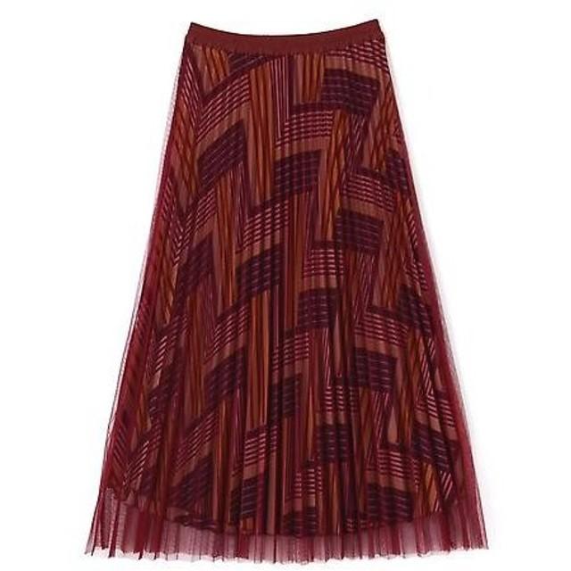 ROSE BUD / ローズ バッド チュールプリーツスカート