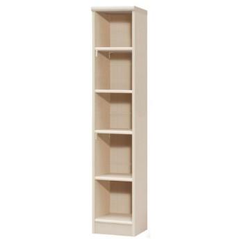 本棚 書棚 ブックシェルフ オープンラック 高さ150cm ライトナチュラル