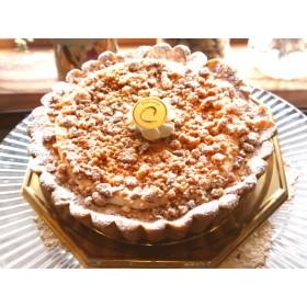とろけるチーズタルト 5号サイズ バレンタイン・ホワイトデー、バースデーケーキ、お祝い事、心を込めた贈り物に