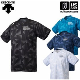 デサント メンズ ハーフスリーブシャツ DMMMJA66 半袖Tシャツ 2018〜19年秋冬モデル [M便 1/1][物流]