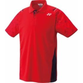 ヨネックス テニス 【男女兼用 テニスウェア】 UNI ポロシャツ 17 サンセットレッド ケームシャツ・パンツ(10221-496)
