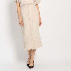 ドレステリア(レディス)(DRESSTERIOR Ladies)/ツイードタイトスカート