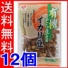 ミツヤ 有機そら豆使用イカリ豆 105g×12個 【送料無料】