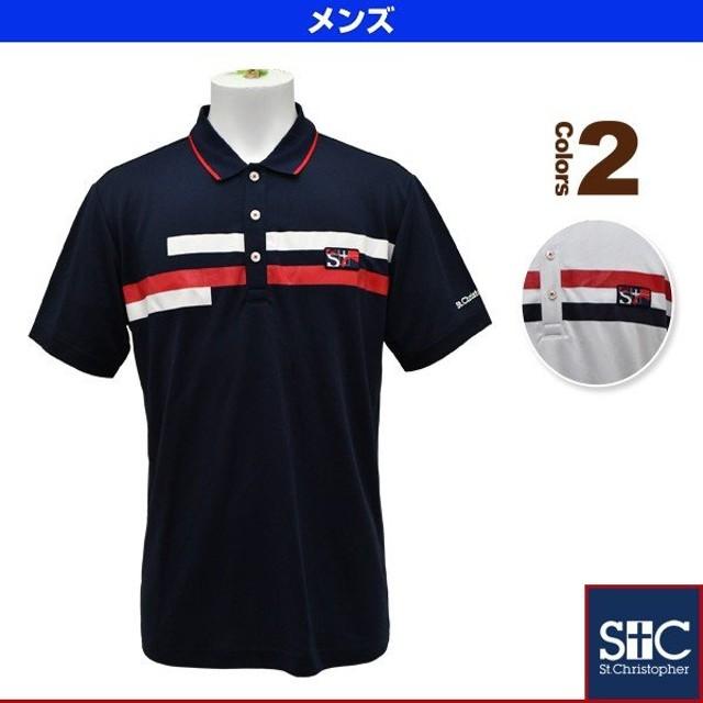 68f7fe0095501 セントクリストファー テニス・バドミントンウェア(メンズ/ユニ) ブレストラインポロシャツ/メンズ