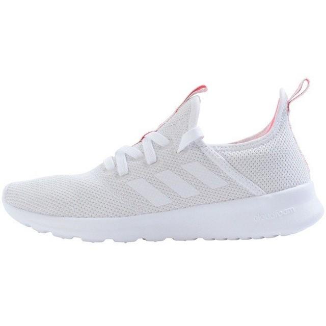 (セール)adidas(アディダス)シューズ カジュアル CLOUDFOAM PURE FBS33 DB1167 ランニングホワイト/クリスタルホワイト S16/ショックレッド S16
