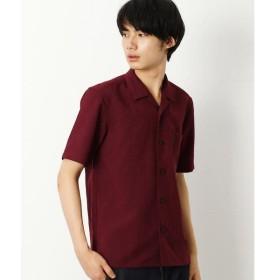 COMME CA COMMUNE / コムサコミューン ストレッチ オープンカラー シャツ