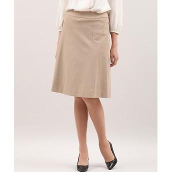 INED / イネド ウォッシャブルストレッチAラインスカート