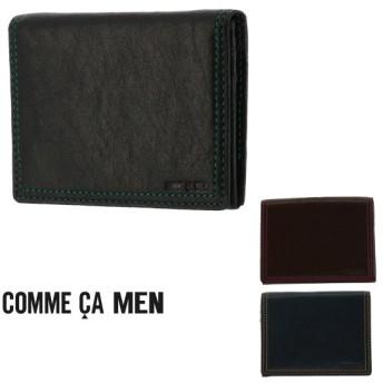 コムサメン パスケース Rami ラミ 6744 COMME CA MEN ICカードケース カードケース 定期入れ マルチケース 羊革 メンズ [PO5]