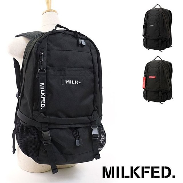 MILKFED. ミルクフェド NEO BIG BACKPACK BAR 3182085