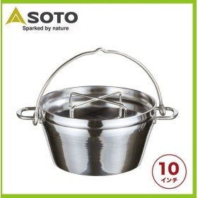SOTO ソト ミラー仕上げダッチオーブン