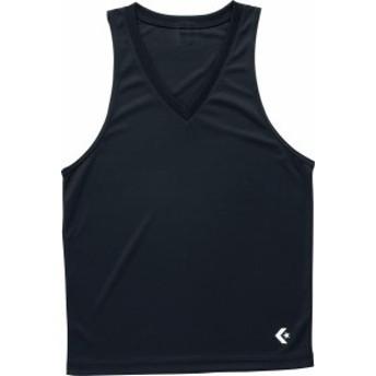 コンバース バスケットボール ゲームインナーシャツ(タンクトップ) 16FW ブラック アンダーシャツ(cb251703-1900)