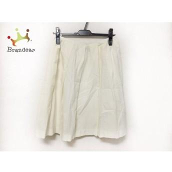 アンタイトル UNTITLED スカート サイズ2 M レディース アイボリー スペシャル特価 20190730