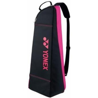 ヨネックス テニス ラケットバッグ2 テニス2本用 18 ブラック/ピンク バッグ(bag1732t-181)
