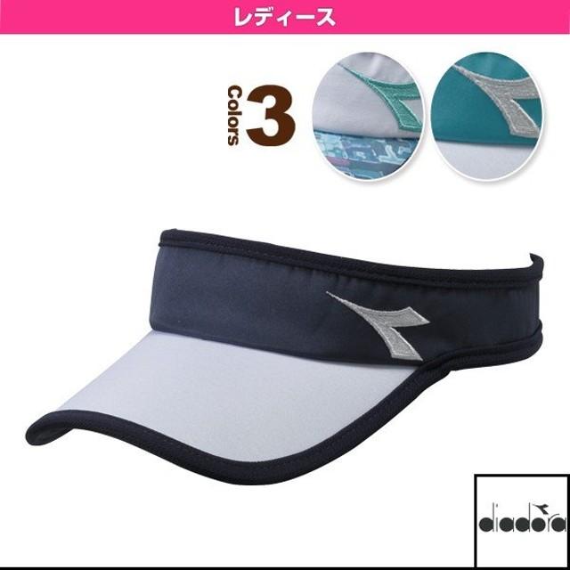 ディアドラ テニスアクセサリ・小物  W ELITE サンバイザー/レディース(DTA8790)