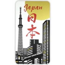 ステッカー スカイツリー スクエア和柄 JAPAN 日本 スカイツリー デザイン おしゃれ 大人