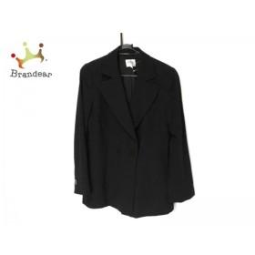 アルマーニコレッツォーニ ARMANICOLLEZIONI ジャケット サイズ44 L レディース 黒       スペシャル特価 20190520