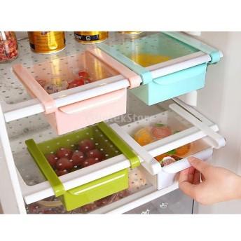 送料無料 15.516.57cm 収納ボックス 家庭用 台所対応 冷蔵庫 食品 新鮮な野菜室 ラック コンテナ 耐久性 ABS製 - 全4色選び