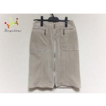 イネド INED スカート サイズ9 M レディース ベージュ スペシャル特価 20190526