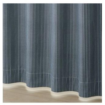 【送料無料!】デニム調ドビー織遮熱。防音。1級遮光カーテン ドレープカーテン(遮光あり・なし)
