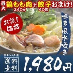 博多水炊き鍋セット4~5人前 送料無料 11種類スープ