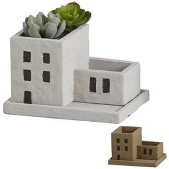 プランター フラワーポット メゾン・コンポジットポット ガーデンポット 植木鉢 ( ポット ガーデニング 鉢 花 緑 グリーン 植物 グリー