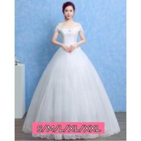 59996efb7ce96 結婚式ワンピース お嫁さん 豪華な ウェディングドレス 花嫁 ドレス エンパイア ビスチェタイプ 姫系