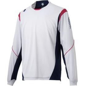 デサント (男女兼用 バレーボールウェア) 長袖プラクティスシャツ DESCENTE DVULJB51 FSLV