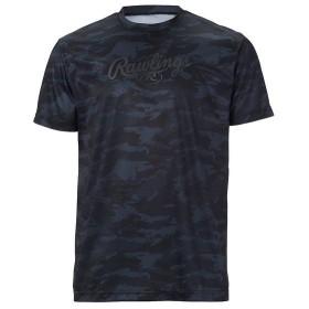 (セール)Rawlings(ローリングス)野球 半袖Tシャツ カモ柄Tシャツ サイズ/L AST8F07-B-L L B
