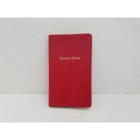 9470ba5485f3 フルラ FURLA 手帳 レディース 美品 レッド 型押し加工/メモ・アドレス帳 ...