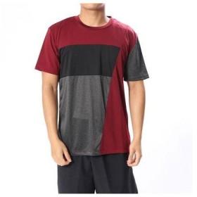 イグニオ IGNIO  メンズ 半袖Tシャツ ドライキリカエTシャツ(半袖) MTPUカチオンキリカエTSS