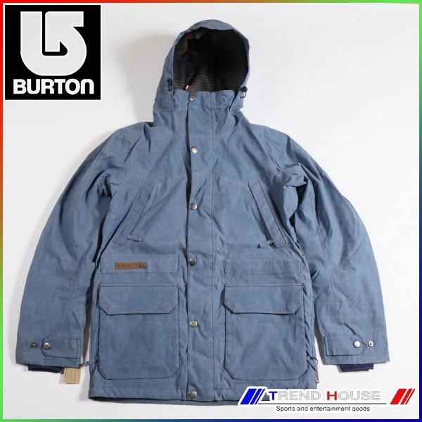BURTON Mens 2014 Snowboard Snow Black Hemp Faux Leather 2L HELLBROOK JACKET