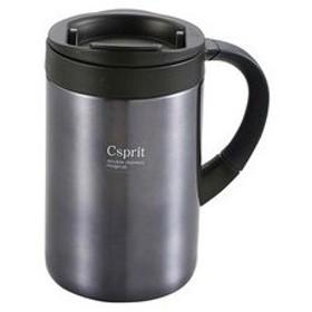 CAPTAIN STAG/キャプテンスタッグ  M5383 シーエスプリ ダブルステンレスマグカップ350 (ブラック)