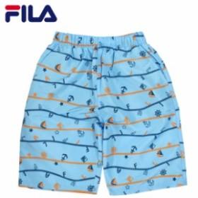 水着 子供 ジュニア 男の子 FILA(フィラ) サーフパンツ 海パン スイムパンツ トランクス タイプ