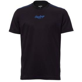(セール)Rawlings(ローリングス)野球 半袖Tシャツ Tシャツ/ハーフパンツセット サイズ/L AST8F09-B-L L B