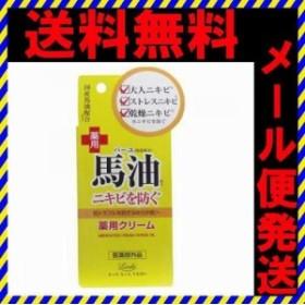 送料無料 ロッシモイストエイド 馬油配合薬用スキンクリーム 20g ニキビを防ぐ