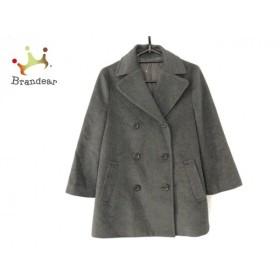 アナイ ANAYI Pコート サイズ38 M レディース グレー 冬物/七分袖   スペシャル特価 20190905